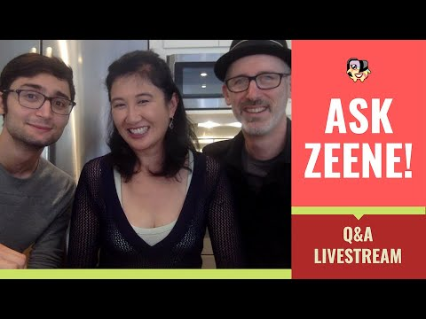 October Ask Zeene! And Chat About