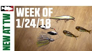 What's New at Tackle Warehouse w. Jake Cotta - 1/24/18