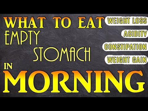 What to eat on empty stomach in Morning | How to start your day for good health