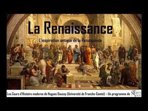 L'inspiration antique de la Renaissance