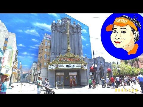 V#547 HSKYTALK14 How do you get a FROZEN LIVE FASTPASS? @ Hyperion DCA 2016 HSKYART Vlog