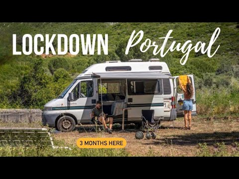 Van Life Portugal | Lockdown on a Portuguese Farm during a Global Pandemic 2020