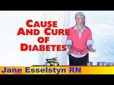 Fat Causes T2 Diabetes - Plant-Based Cures It - Jane Esselstyn R.N.