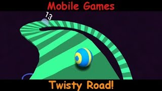 Twisty Road ! - Mobile Games  Gameplay  - Android and IOS