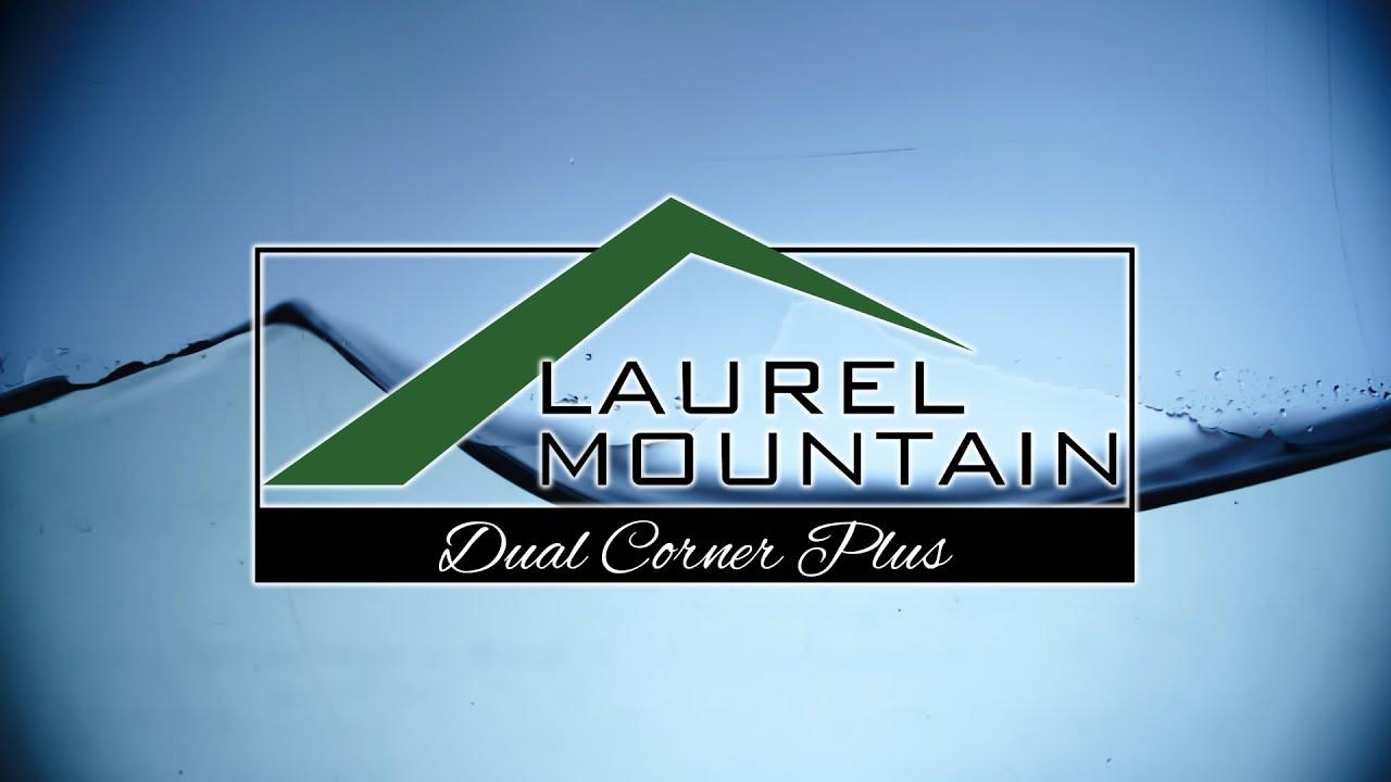 Dual Corner Plus Bath by Laurel Mountain | Luxury Soaking Tub - YouTube