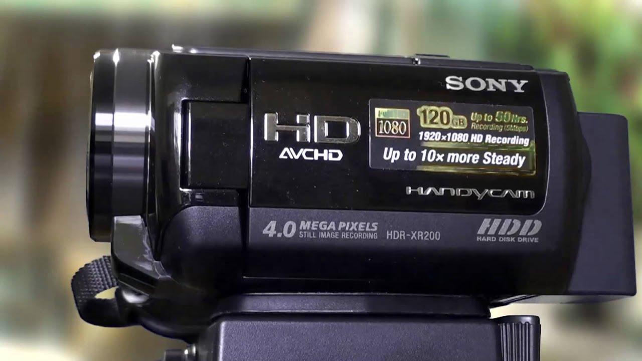 video camara sony hdr xr200v curso de edici n de tv youtube rh youtube com Sony Dcr Handycam HDR Sony Handycam HDR- CX260V Review