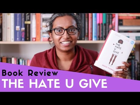 The Hate U Give by Angie Thomas   Book Review