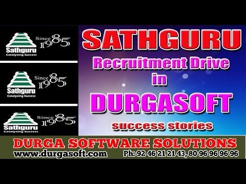 Sathguru Recruitment Drive in DURGASOFT Success stories