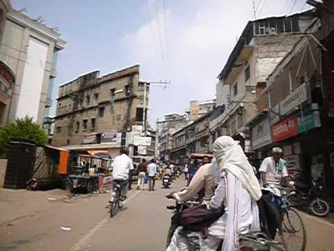 Biking in Varanasi