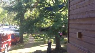 The Amazing Rescue Of The Patio Umbrella By The Phenominal Cottleville Fire Department