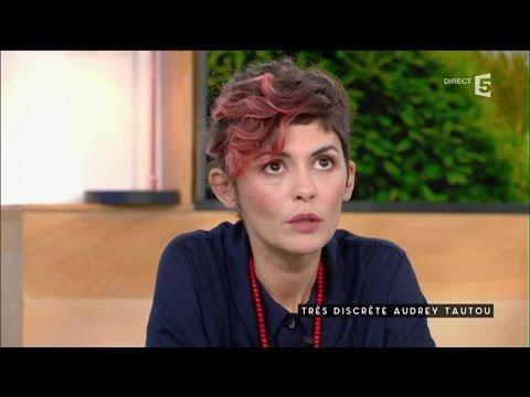 Audrey Tautou, discrète - C à vous - 01/09/2016