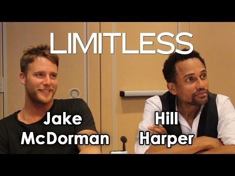 Limitless - Jake McDorman and Hill Harper Interview streaming vf