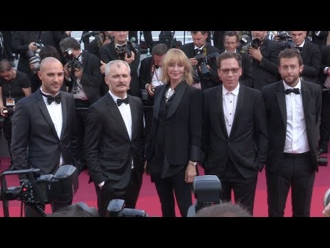 Adrien Brody, Uma Thurman, Reda Kateb and more on the red carpet in Cannes thumbnail