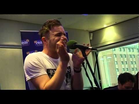 Olly Murs - Please Don't Let Me Go LIVE (Real Radio Band in the Boardroom)