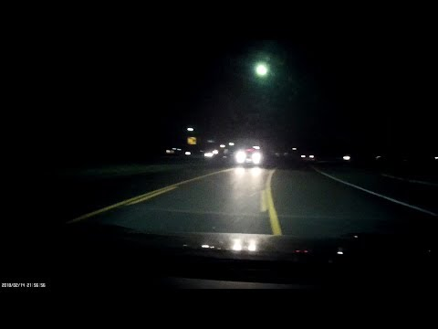 Close call in center turn lane, then confused driver with no taillights