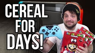 NEW Switch Controller and Super Mario Cereal for DAYS! | RGT 85