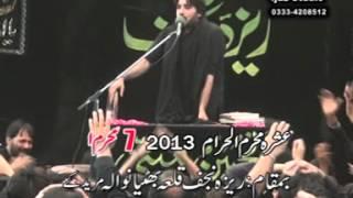 zakir syed imran haider kazmi  Reza e najaf 06 Muharram  2013