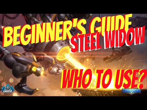 Dungeon Hunter Champions:  Steel Widow Beginner's Guide | Who To Use?