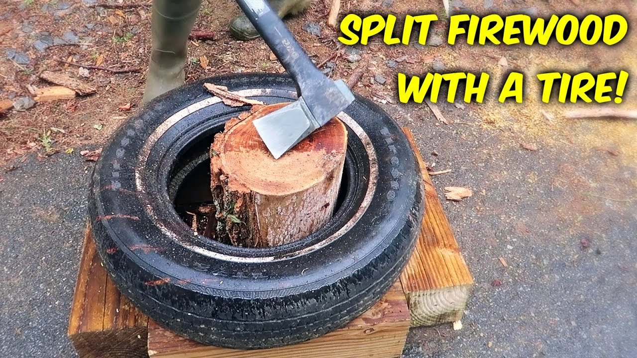 split-firewood-with-a-tier