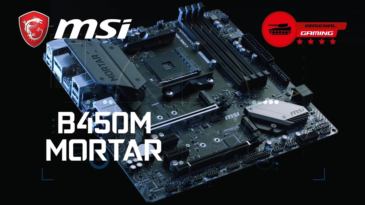 Blast away the Competition with MSI B450M MORTAR | Gaming Motherboard | MSI