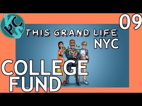 This Grand Life EP09 - College Fund – New York City! Adult Life Simulator Gameplay