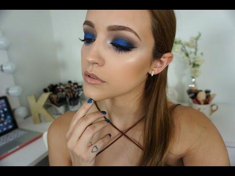 Metallic Blue Eyes | Makeup Tutorial