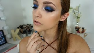 Metallic Blue Eyes | Makeup Tutorial