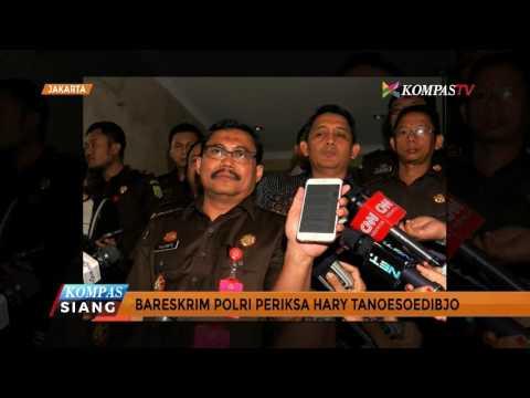 Hary Tanoe Penuhi Panggilan Bareskrim Terkait SMS ke Jaksa
