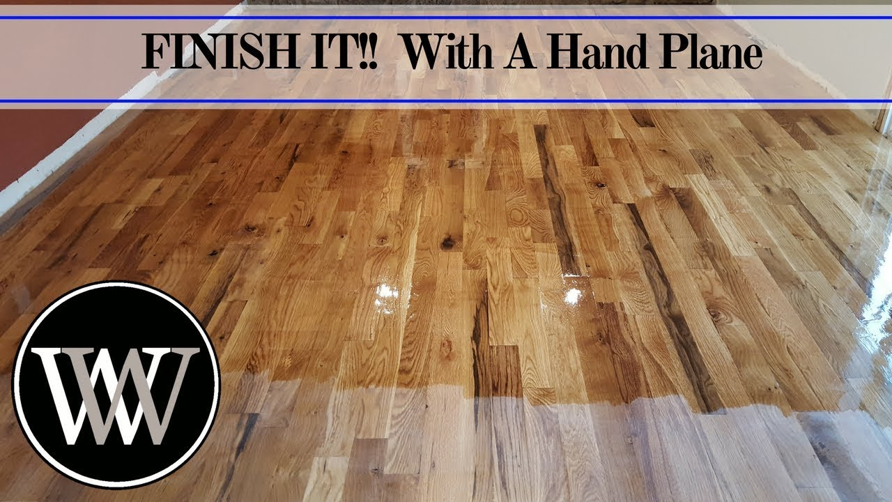 How To Hand Se A Floor And Finish It With Waterlox You