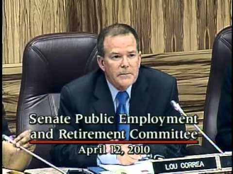 Senate Public Employment and Retirement Committee 4/12/2010