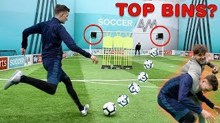 CAN I WIN THE SOCCER AM FOOTBALL CHALLENGE !? (CRAZY TOP CORNER GOALS)