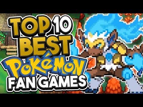 Top 10 Best Pokemon Fan Games 2018