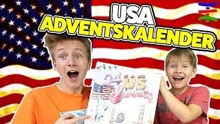 USA Adventskalender - Die Spinnen doch, die Amis 😁 TipTapTube Family 👨👩👦👦
