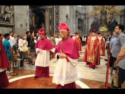 Vespers in St. Peter's Basilica