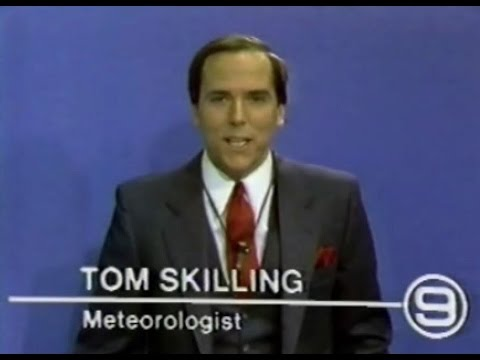WGN Channel 9 - Weather Break with Tom Skilling (1980 ...