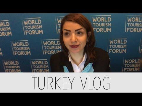 Turkey Day 4 Vlog - World Tourism Forum & Çırağan Palace