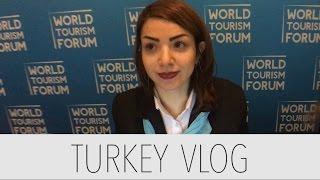 Turkey Day 4 Vlog - World Tourism Forum & Çırağan Palace