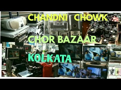Chandni chowk  chor bazaar || cheapest market  for secondhand LED TV,DVD,LAPTOP, COMPUTER,MOBILES ,,