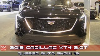 2019 Cadillac XT4 2.0T AWD - Exterior And Interior - 2019 Quebec Auto Show