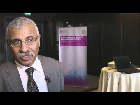 Cairo Symposium: Prof Jihad Hamdan Chief Field Education Programme UNRWA