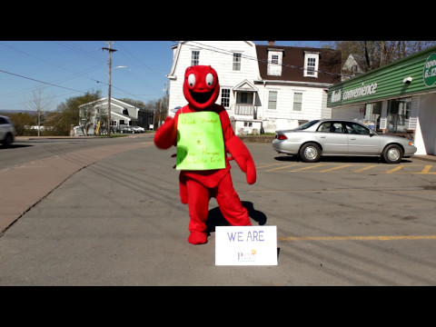 The Pictou Lobster Carnival Lobster  is Pictou Proud! Are you?