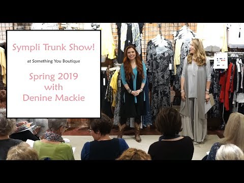 Sympli Spring 2019 Trunk Show at Something You Boutique