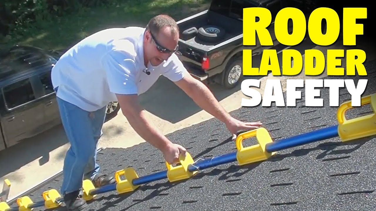 The Goat Steep Assist Roof Ladder Youtube