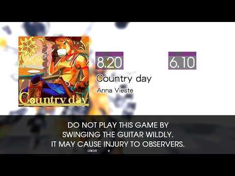 【GITADORA EXCHAIN Guitarfreaks】 Country day MASTER Guitar & Bass