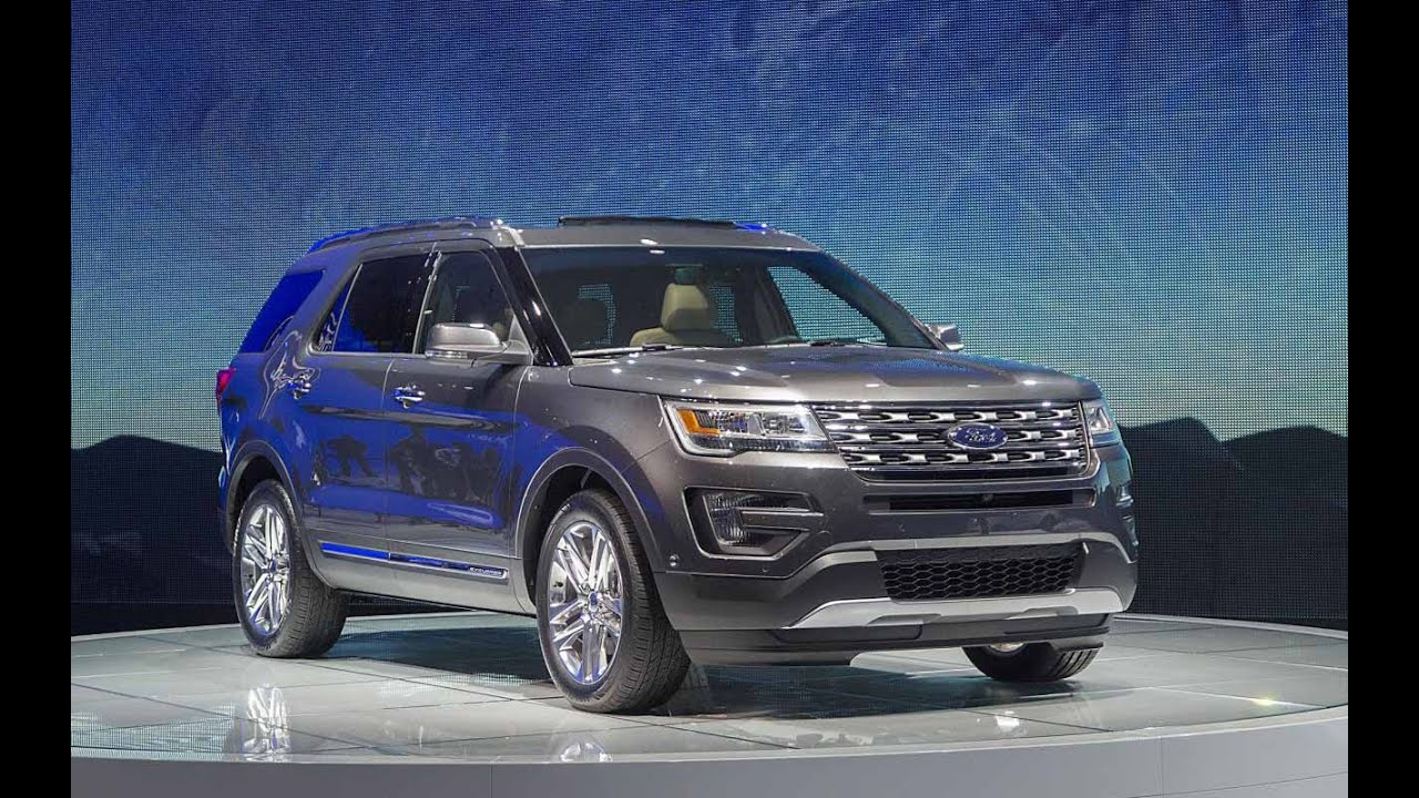 2017 ford explorer release date interior redesign
