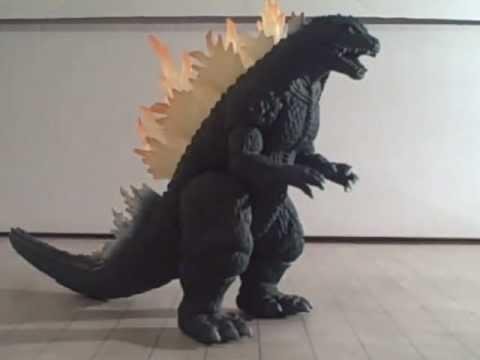 Godzilla (Megaguirus Set) Toy Review - YouTube