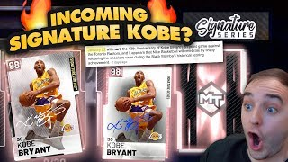 NBA 2K19 My Team INCOMING PINK DIAMOND SIGNATURE SERIES KOBE? RONNIE2K SAYS CONTENT IS COMING!!!