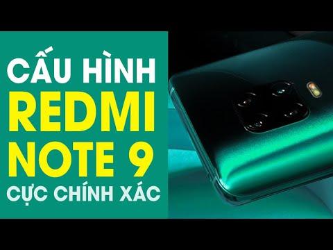 Thông số kĩ thuật Xiaomi Redmi Note 9/ Note 9s chính xác đến từng mili