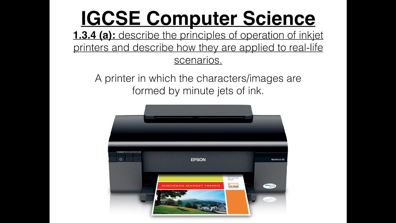 Laser and inkjet printer: the principle of printing 94