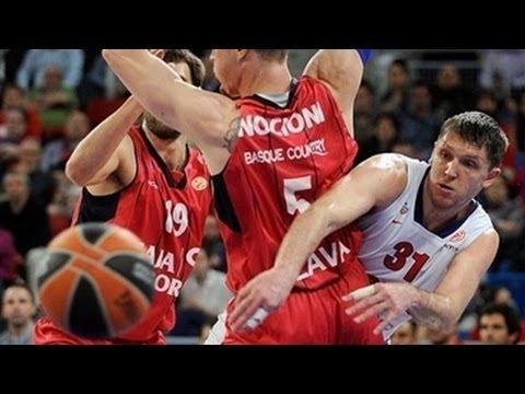 MVP Viktor Khryappa - CSKA Moscow (Euroleague Playoffs - Game 4)